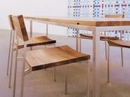 Wooden chair HANS - e15