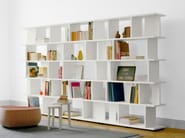 Open sectional solid wood bookcase ARIE - e15