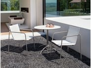 Taku bistrotable with armchair
