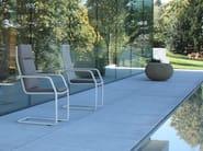 Cantilever high-back garden chair LODGE   High-back chair - FISCHER MÖBEL