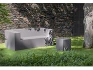 Foam garden sofa SOHO | Garden sofa - FISCHER MÖBEL