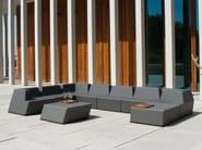 Corner modular foam garden sofa UNIVERS | Corner sofa - FISCHER MÖBEL