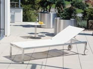 Recliner garden daybed with Casters HELIX | Garden daybed with Casters - FISCHER MÖBEL