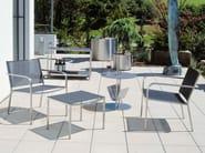 Textilene garden armchair with armrests HELIX | Garden armchair - FISCHER MÖBEL