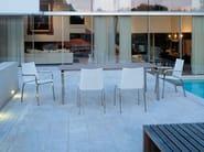 Rectangular garden table KYOTO   Rectangular table - FISCHER MÖBEL