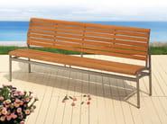 Teak garden bench LA PIAZZA | Garden bench - FISCHER MÖBEL