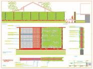 Vertical gardening trellis PERLIFENCE® - Perlite Italiana