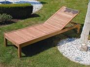 Recliner teak garden daybed BALI | Garden daybed - FISCHER MÖBEL