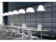 Upholstered restaurant booth MODUS - PEDRALI