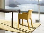 Armchair with armrests TRAMA | Armchair - ENRICO PELLIZZONI