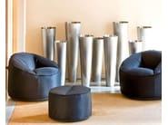 Upholstered pouf ISLAND - PEDRALI