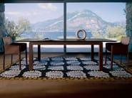 Extending living room table ABACO | Table - ENRICO PELLIZZONI