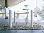 Crystal living room table FAGUS | Table - ENRICO PELLIZZONI