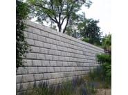 Containment wall REDI-ROCK - Calubini