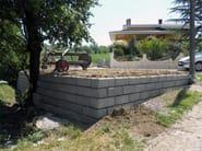 Containment wall MINI-ROCK - Calubini