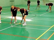 Resilient sports flooring for roller skating TARAFLEX® SURFACE - GERFLOR