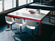 Crystal executive desk FAGUS | Office desk - ENRICO PELLIZZONI