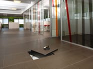 Modular system for raised flooring Raised floor - Ceramiche Caesar