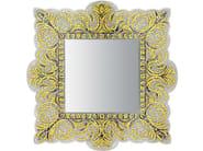 Framed square mirror VEREV GOLD - Sicis