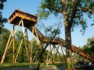 Timber beam Glued laminated wood - Simonin