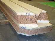 Timber roof structure and timber truss SAPILIEGE® - Simonin