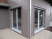 Wall parapet, threshold, front panel Woodframe carpentry - Simonin
