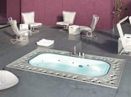 Overflow built-in hot tub ARIMA | Built-in hot tub - Glass 1989