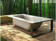 Freestanding bathtub CONCRETE BATH - Glass 1989