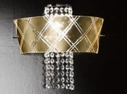 Gold leaf wall light MEDUSA | Wall light - Metal Lux di Baccega R. & C.