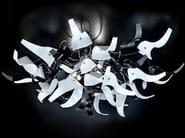 Crystal ceiling lamp DIVA | Ceiling lamp - Metal Lux di Baccega R. & C.