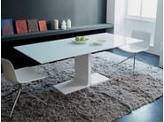 Rectangular glass table PALACE | Table - SOVET ITALIA