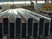 Steel-concrete loadbearing floor slab SHEETS LG 55 - ISOPAN