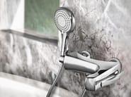 Wall-mounted bathtub mixer with hand shower ICARUS | Bathtub mixer - Gattoni Rubinetteria