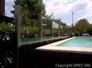Stainless steel Pool barrier Pool barrier - SMEC