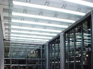 Glass ceiling tiles GLASS PROJECT | Ceiling tiles - Vetraria Pescini