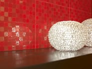 White-paste wall tiles DOTS - MARAZZI