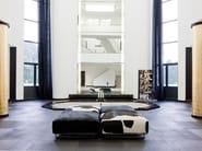 Upholstered pouf DAYTONA | Pouf - ALIVAR