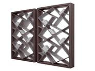 Freestanding double-sided bookcase SHANGHAI - ALIVAR