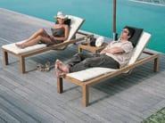 Recliner teak garden daybed IXIT | Garden daybed - ROYAL BOTANIA