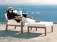 Fabric garden footstool IXIT | Garden footstool - ROYAL BOTANIA