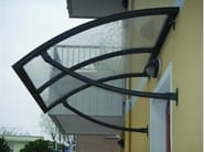 Aluminium door canopy ENEA - KE Outdoor Design