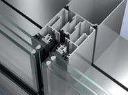 Structural glass facade Schüco SFC 85 - SCHÜCO INTERNATIONAL ITALIA