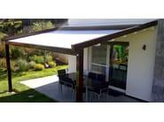 Aluminium pergola with sliding cover A2 COMPACT - KE Outdoor Design
