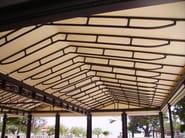 Aluminium gazebo ROOMY MOTORIZZATO - KE Outdoor Design