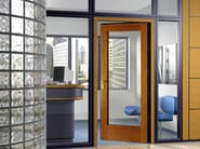 Glazed entry door SUN LIGHT - TORTEROLO & RE