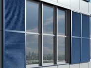 Sunscreening system for facade Frangisole scorrevole Schüco ALB - SCHÜCO INTERNATIONAL ITALIA