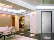 Entry door with concealed hinges ELEGANCE - TORTEROLO & RE