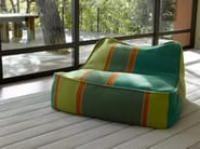 Bean bag with removable cover FLOAT   Armchair - Paola Lenti