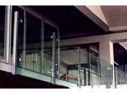 Glass and steel balustrade Glass and steel balustrade - QUARTIERI LUIGI