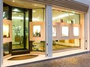 Steel security window Safety window for shops - QUARTIERI LUIGI